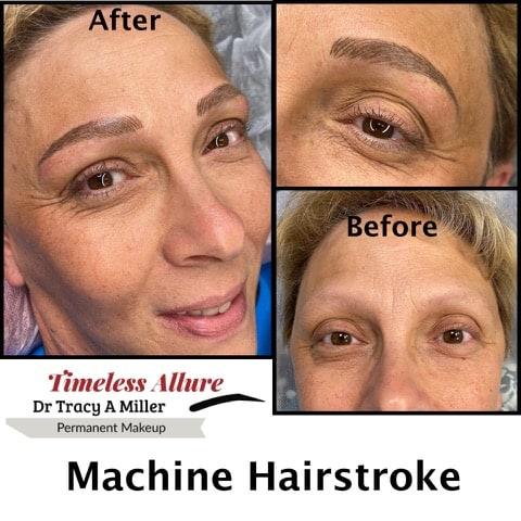 Machine Hair Stroke Brows