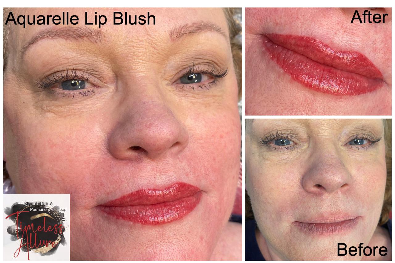 Permanent Lip Tattoo